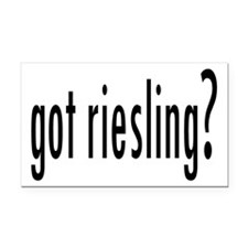 gotRiesling.png Rectangle Car Magnet