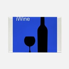 iWineBlue.png Rectangle Magnet