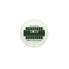 Cute Wheel of answers Mini Button (10 pack)