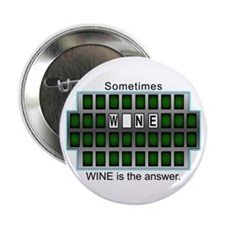 "Cute Winemaking 2.25"" Button (10 pack)"