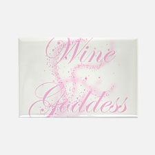 WineGoddessGlitter.png Rectangle Magnet