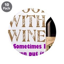 "ICookWithWine.PNG 3.5"" Button (10 pack)"