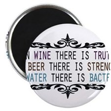 In Wine There is Truth Magnet