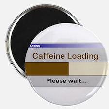 """CaffeineLoading.PNG 2.25"""" Magnet (10 pack)"""