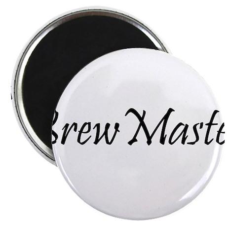"BrewMasterFilledBlack.png 2.25"" Magnet (100 pack)"