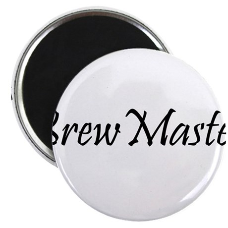 "BrewMasterFilledBlack.png 2.25"" Magnet (10 pack)"