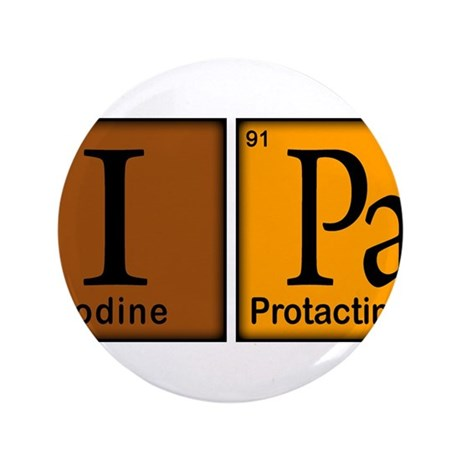 """Periodic-Beer.png 3.5"""" Button (100 pack)"""