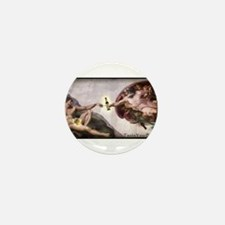 3-Michelangelo.png Mini Button (10 pack)