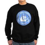 """Men's Sweatshirt (dark), 9"""" logo"""