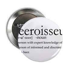 """BeeroisseurDark.png 2.25"""" Button"""