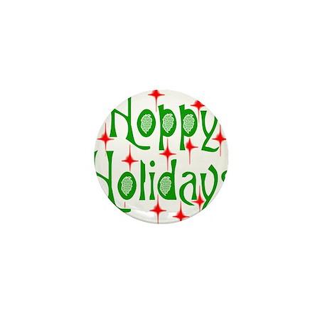 HoppyHolidays.png Mini Button (100 pack)