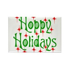 HoppyHolidays.png Rectangle Magnet (10 pack)