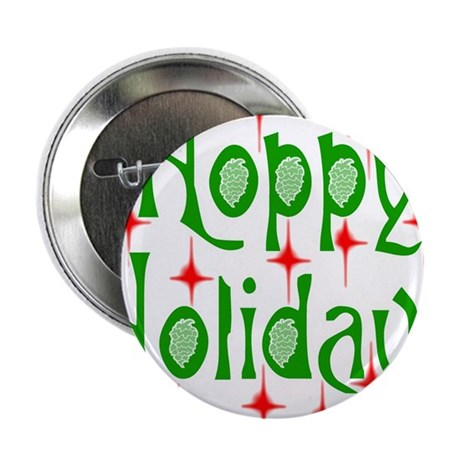 "HoppyHolidays.png 2.25"" Button (100 pack)"