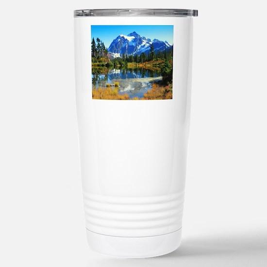 Mountain At Autumn Mugs
