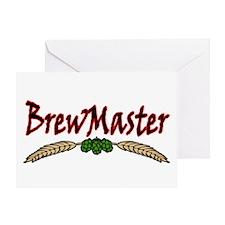 BrewMaster2.png Greeting Card