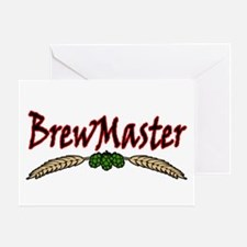 BrewMaster2.png Greeting Card