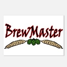 BrewMaster2.png Postcards (Package of 8)