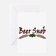 BeerSnob2.png Greeting Card