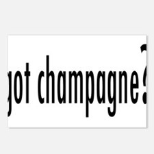 gotChampagne.png Postcards (Package of 8)