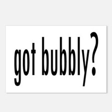 gotBubbly.png Postcards (Package of 8)