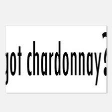 got chardonnay.png Postcards (Package of 8)