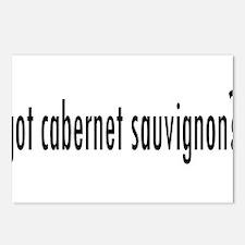 got cabernet sauvignon.png Postcards (Package of 8