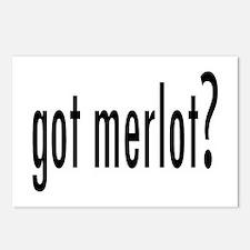 got merlot.png Postcards (Package of 8)