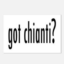 got chianti.png Postcards (Package of 8)