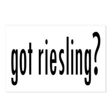 gotRiesling.png Postcards (Package of 8)