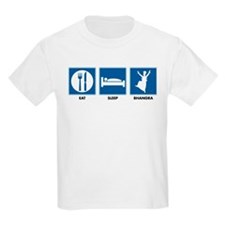 Eat. Sleep. Bhangra. Kids T-Shirt