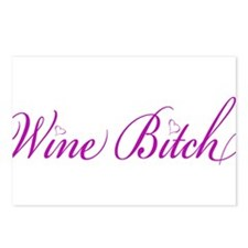 WineBitch.png Postcards (Package of 8)