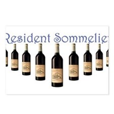 Resident Sommelier Postcards (Package of 8)