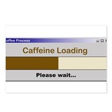 CaffeineLoading.PNG Postcards (Package of 8)