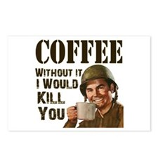 CoffeeKill.png Postcards (Package of 8)