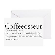 Coffeeosseur.PNG Greeting Card