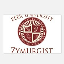 BeerU-Zymurgist.png Postcards (Package of 8)