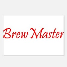 BrewMasterFilledRed.png Postcards (Package of 8)
