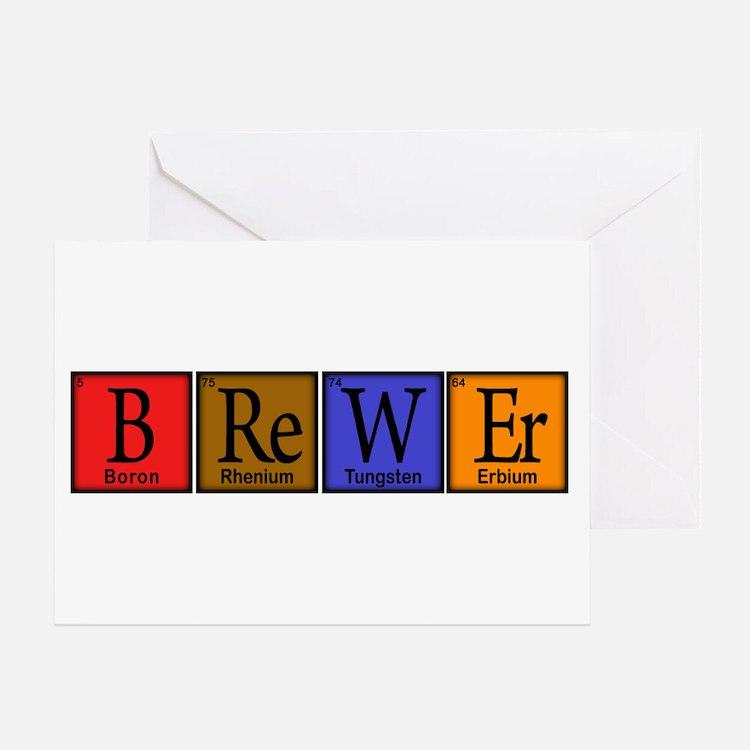 Periodic-BOCK.png Greeting Card