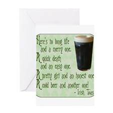 IrishToast.png Greeting Card