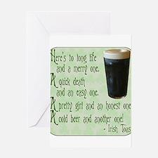 IrishToast.png Greeting Card