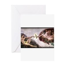 3-Michelangelo.png Greeting Card