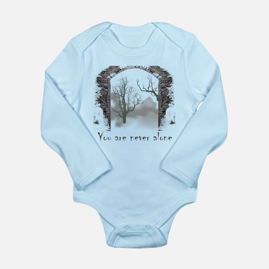You are Never Alone Long Sleeve Infant Bodysuit