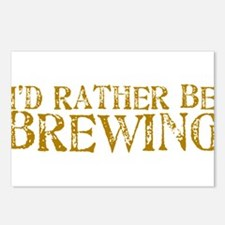 IdRatherBeBrewing.PNG Postcards (Package of 8)