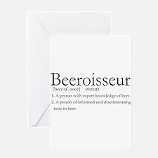 BeeroisseurDark.png Greeting Card