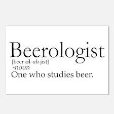 BeerologistDark.png Postcards (Package of 8)