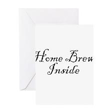 HomeBrewInsideDark.png Greeting Card