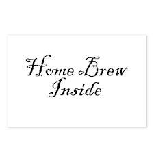 HomeBrewInsideDark.png Postcards (Package of 8)