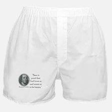 BenFranklinCPBlack.png Boxer Shorts