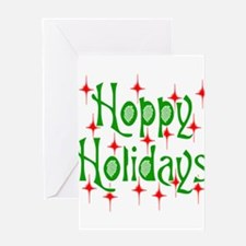 HoppyHolidays.png Greeting Card