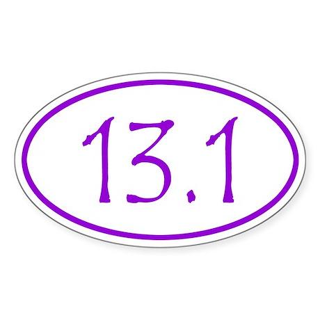Purple Half Marathon 13.1 Miles